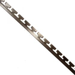 Canto de acero de 20 cm