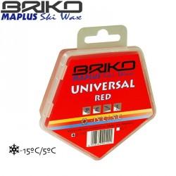 Cera universal BRIKO-Maplus roja 100 g