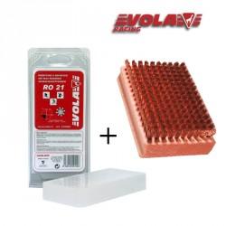 Pack: Cepillo de bronce VOLA + Parafina 200 g VOLA