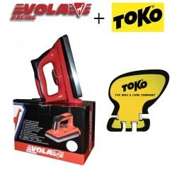 VOLA Waxing Iron 1000 W +TOKO Scraper Sharpener