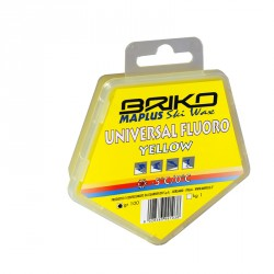 Cera universal fluorada BRIKO-Maplus amarilla 100 g