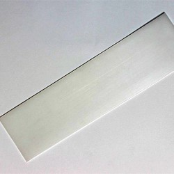 Parche suela polietileno negro 25x6 cm