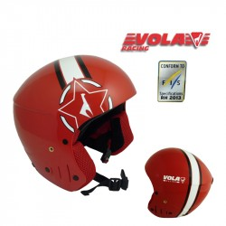Casco VOLA FIS Red