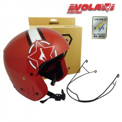 Casco VOLA Red FIS + Mentonera