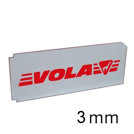 Rasqueta metacrilato 3 mm VOLA