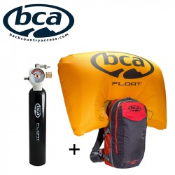 Mochila Airbag Float 32 de BCA + Cilindro Float 1.0
