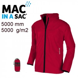 Veste imperméable Mac in a Sac rouge