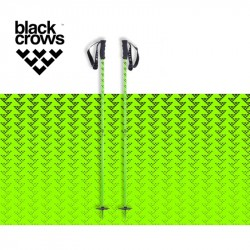 Bastones Black Crows Meta Green