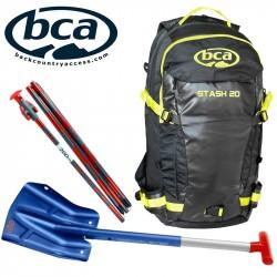 Bundle: Stash 20 + Shovel B1 Ext + Probe 240