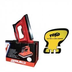 Plancha 1000 W VOLA + Afilador de rasquetas TOKO