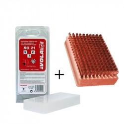 Pack: VOLA Brass Brush  + Paraffin 200 g VOLA