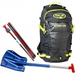 Lot: Stash 20 + Shovel B1 Ext + Probe 240