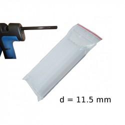 Bougies Transparents Polyéthylène x10 Wintersteiger (à pistolet)