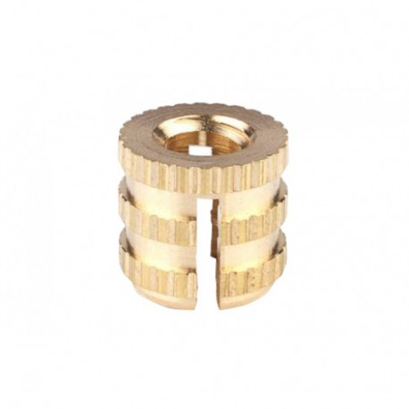 Snoli brass inserts for bindings x10