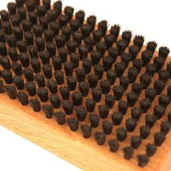 Ski Snowboard Waxing Horse Hair Brush by VOLA