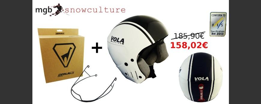 Pack casco FIS + Mentonera