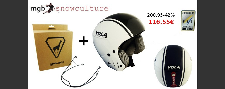Saving pack: FIS Helmet + Metal Chin Guard