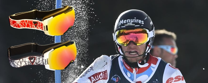 Goggles for ski and snowboard.