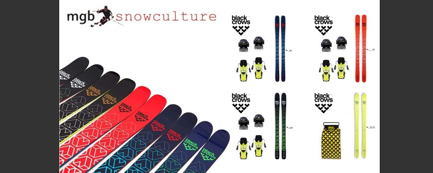 PACKS SKIS BLACK CROWS