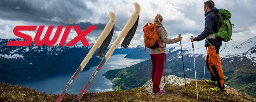 SWIX POLES FOR TRAIL RUNNING & TREKKING